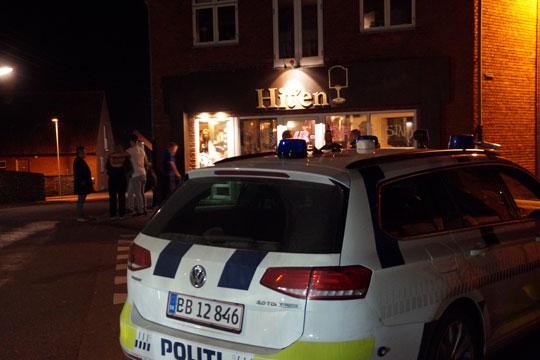 To mænd sigtet efter uro i Nexø i nat