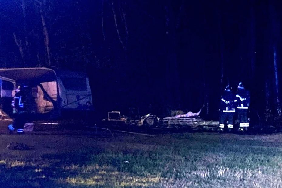 24-årig tiltalt for at sætte ild på campingvogn