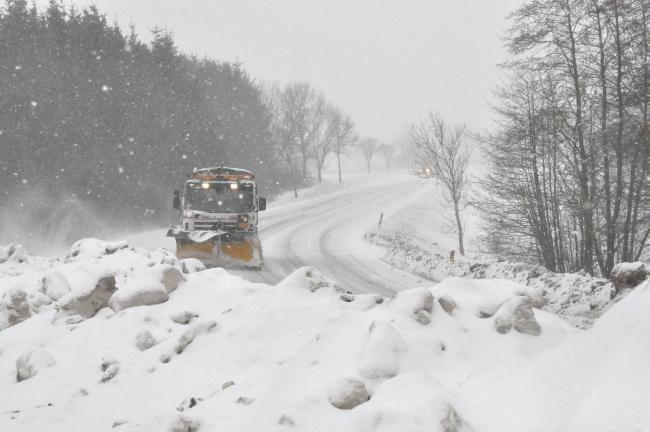 DMI: Der falder ikke meget mere sne