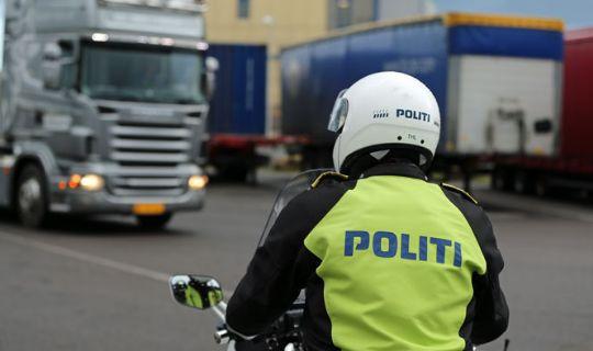 Polsk varevogn beslaglagt i Rønne