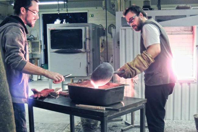 Designskole får tilskud til udstilling