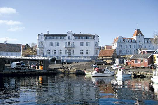 Overskud hos Hotel Sandvig Havn