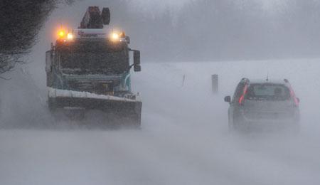 DMI venter snefygning et døgn frem