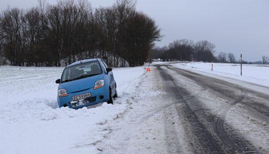 Vintertjenesten: Stedvis snefygning