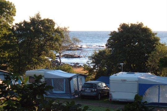 Fremgang for Hullehavn Camping