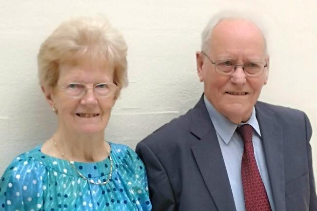 Ægtefolk i 65 år