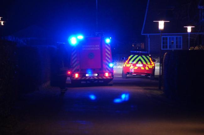 Udrykning til brand i Melsted