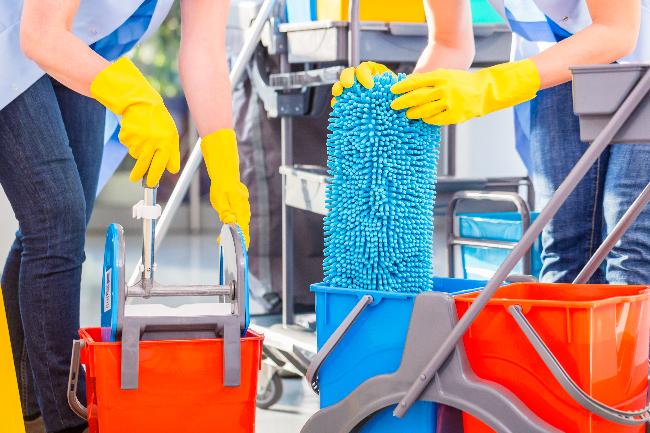 Fremgang for rengøringsfirma