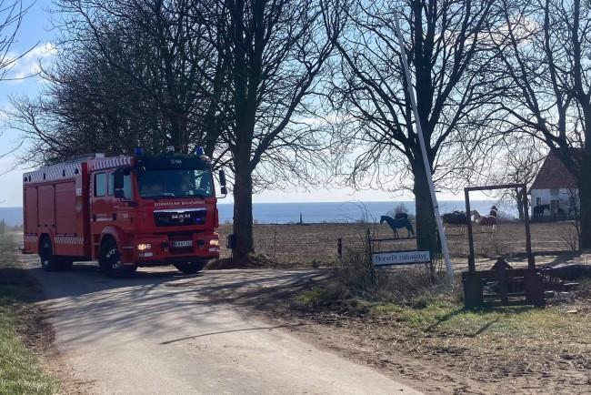 Brand i fyrrum på hestestutteri i Ibsker