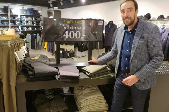 Fremgang for stor tøjbutik i Rønne