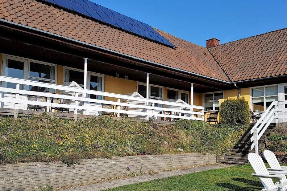 Nedgang for pensionat i Sandvig