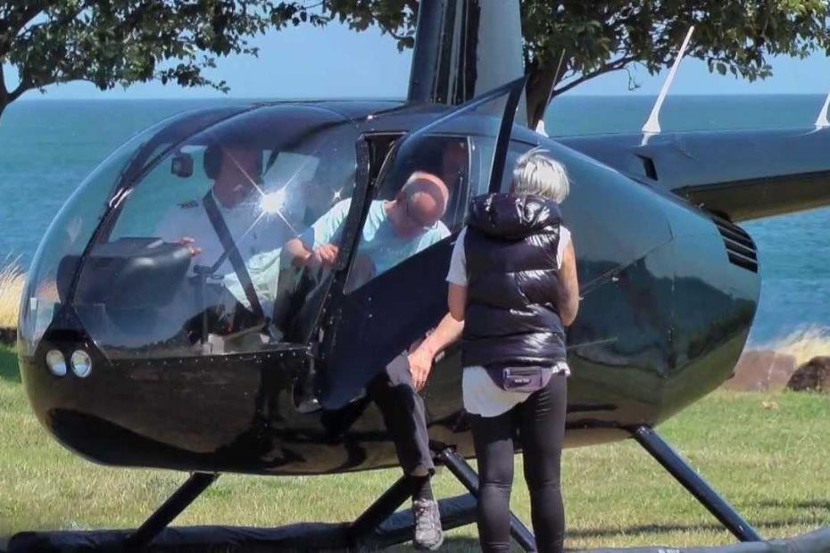 Ønsker stop for rundture med helikoptere