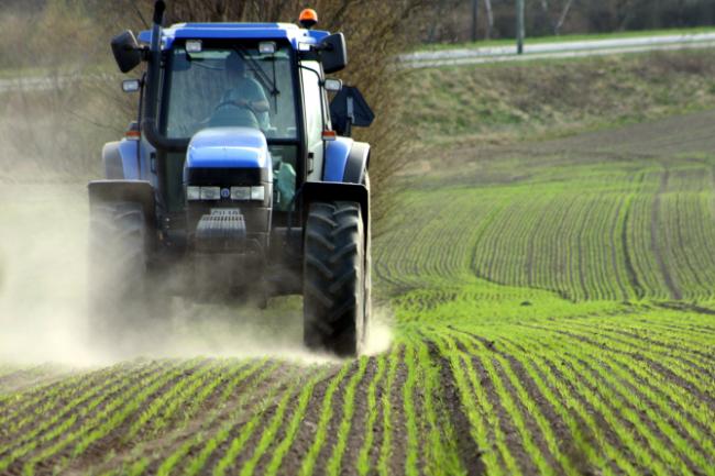 Hovedparten af Bornholm er landbrugsland