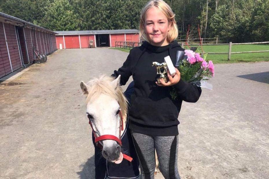 Talentfuld bornholmer til DM i ponytrav