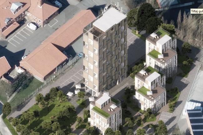 Plan om boliger i DLG-siloen i Rønne