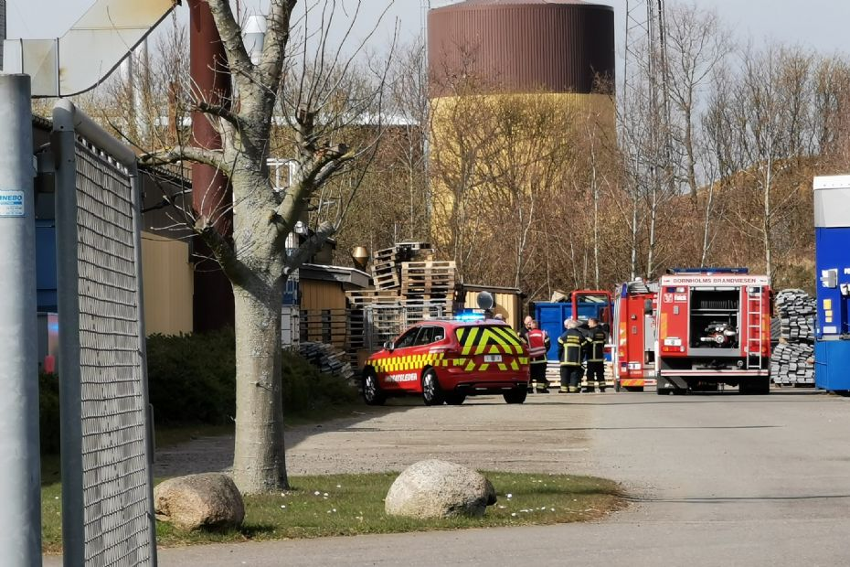Mindre brand hos Ole Almeborg A/S