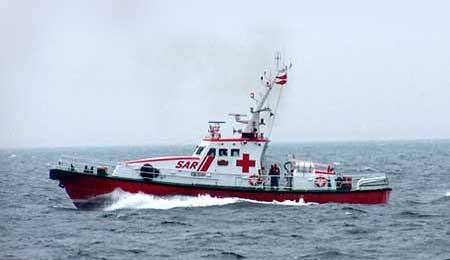Havareret speedbåd slæbt til Nexø