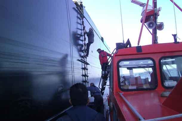 Tilbagegang for maritimt servicefirma