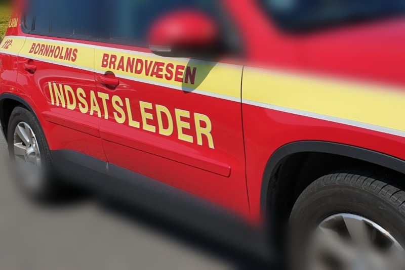 Mindre brand i garage i Rønne