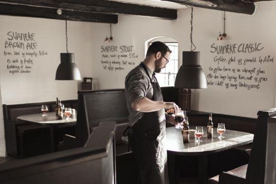 Restauranter i Svaneke tjente godt