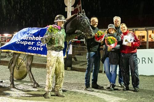 Golden League hest forlader Bornholm