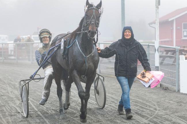 Girlpower i travsporten på Bornholm