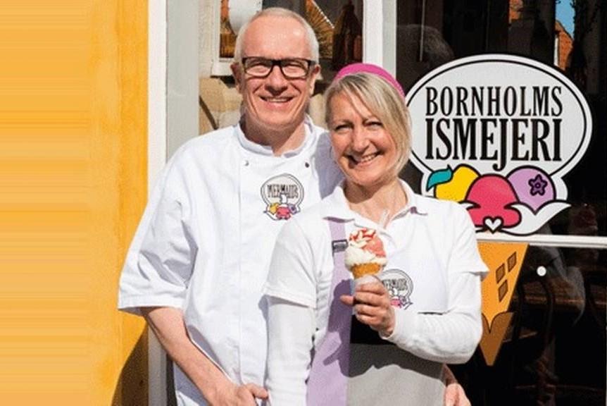 Kæmpe vækst for Bornholms Ismejeri