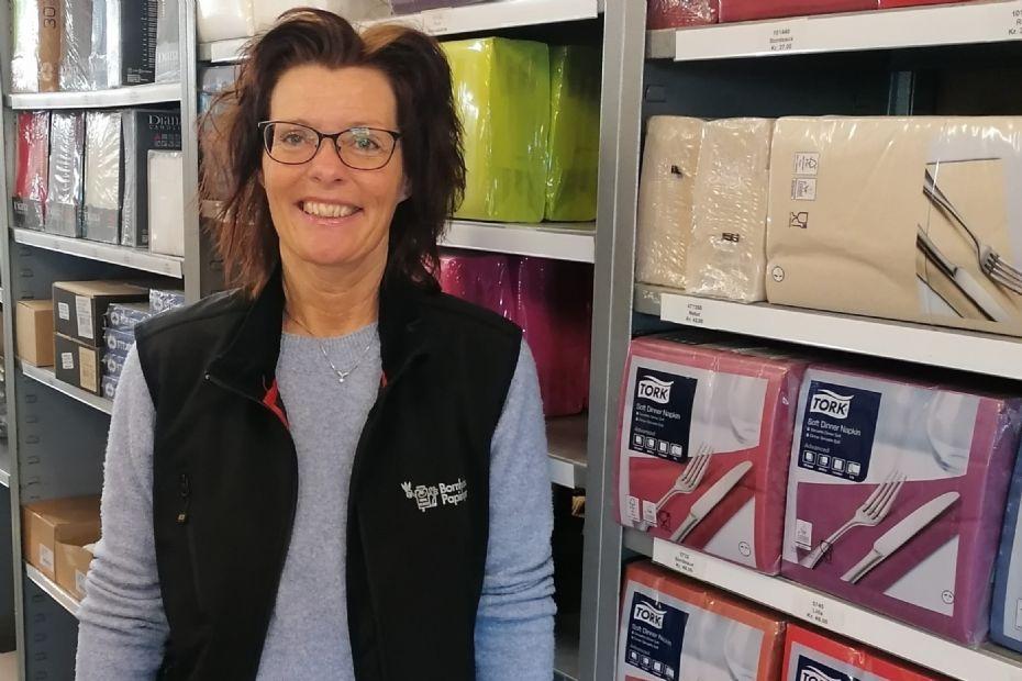 Ny medarbejder i Bornholms Papirlager