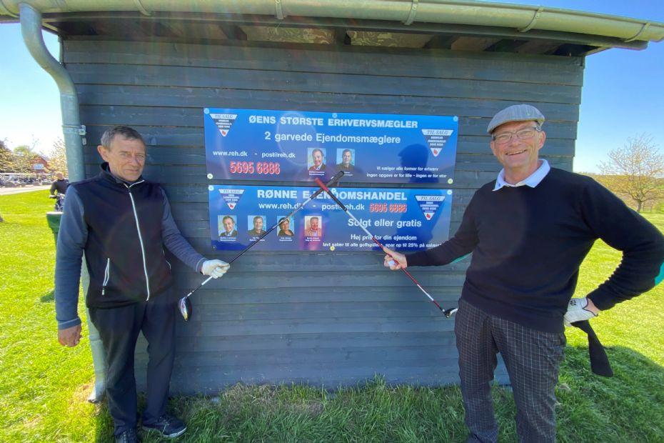 Ny storsponsor på Rø Golfbaner