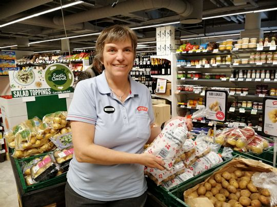 Købmand vil sælge flere lokale fødevarer