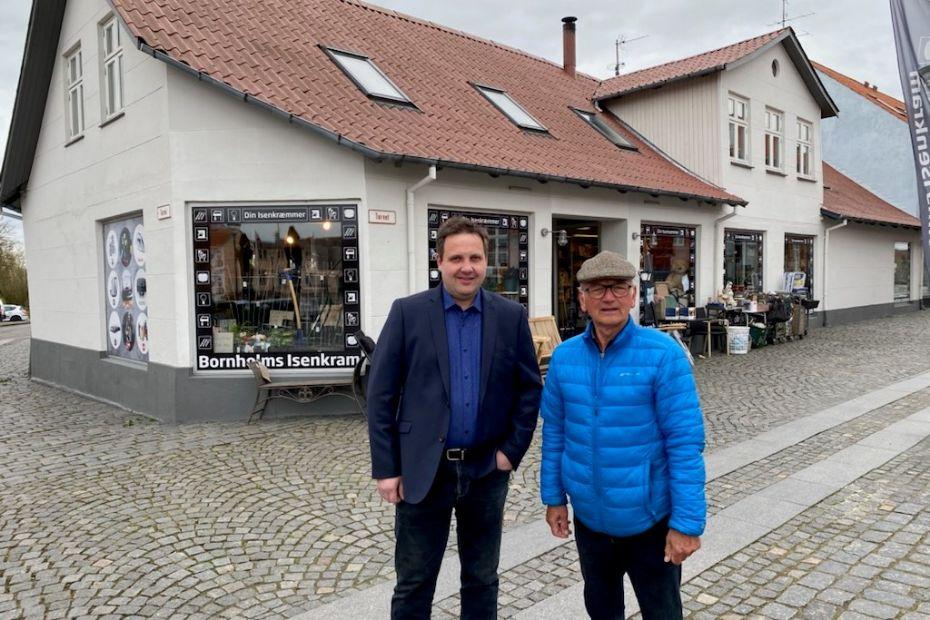 Markant ejendom på Aakirkeby Torv solgt