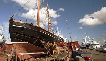 Bådebyggeri i Nexø frivillig opløst