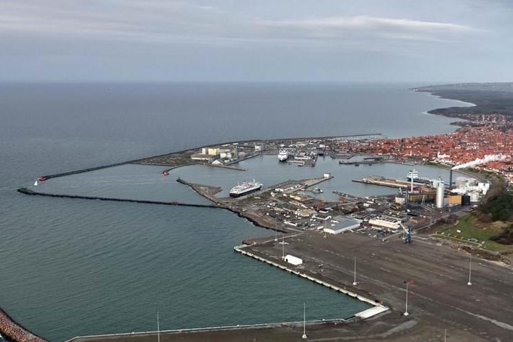 Rønne Havn udvider industrihavn for 300 millioner