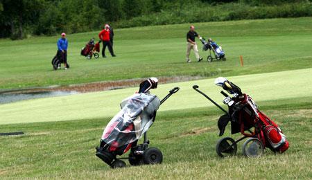 Golfkvinder sejrede stort