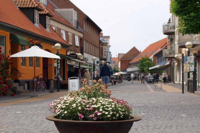Kommunen beskytter butikker i Rønnes bymidte