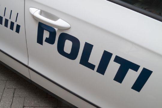Politiet snuppede nummerplade