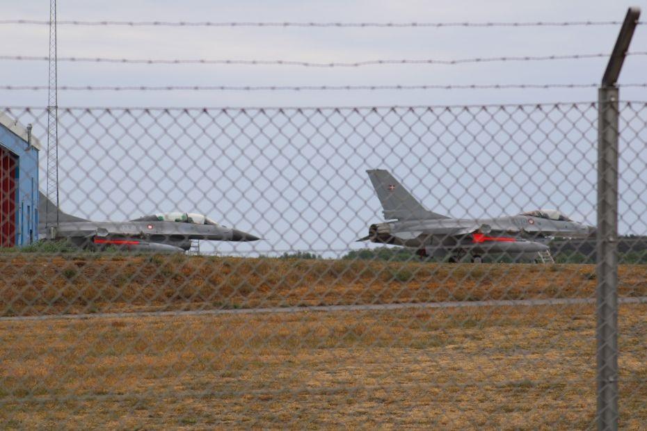 Forsvaret udstationerer kampfly på Bornholm