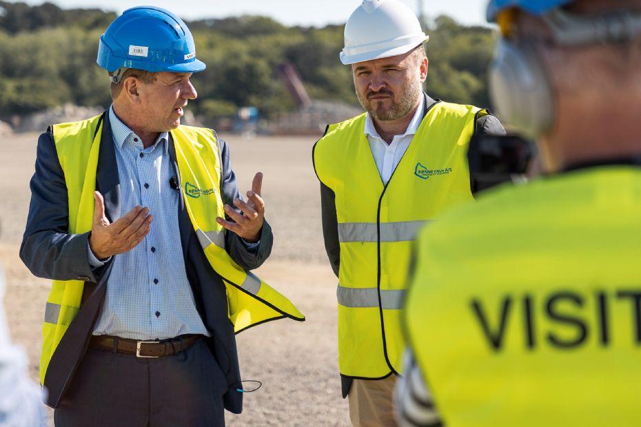 Minister: Rønne Havn har været fremsynet