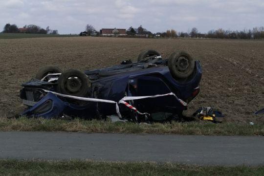 20-årig sigtet for spritkørsel efter trafikuheld