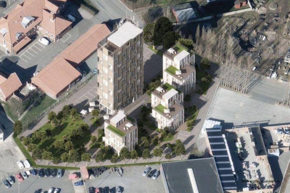 Politisk flertal imod boliger i BAF-silo i Rønne