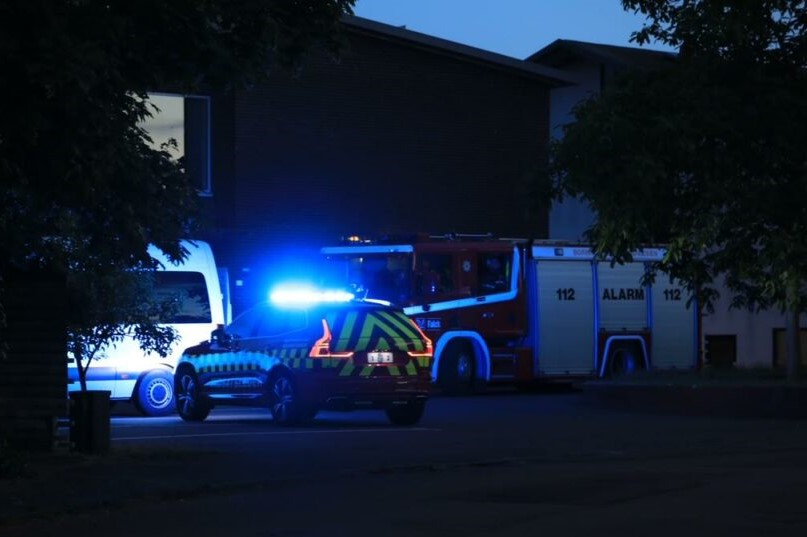 Brandalarm på plejecenter