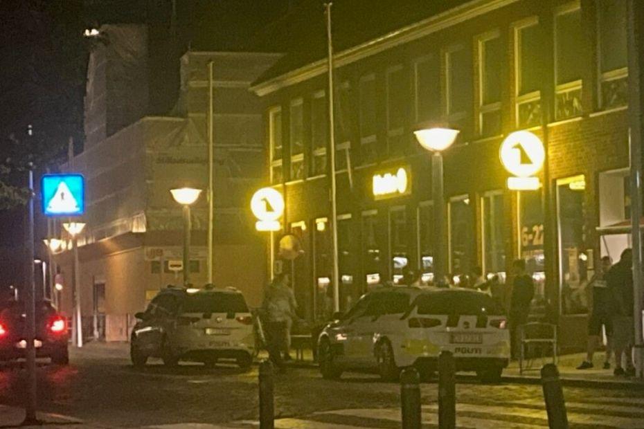 To mænd sigtet for gadeuorden i Rønne