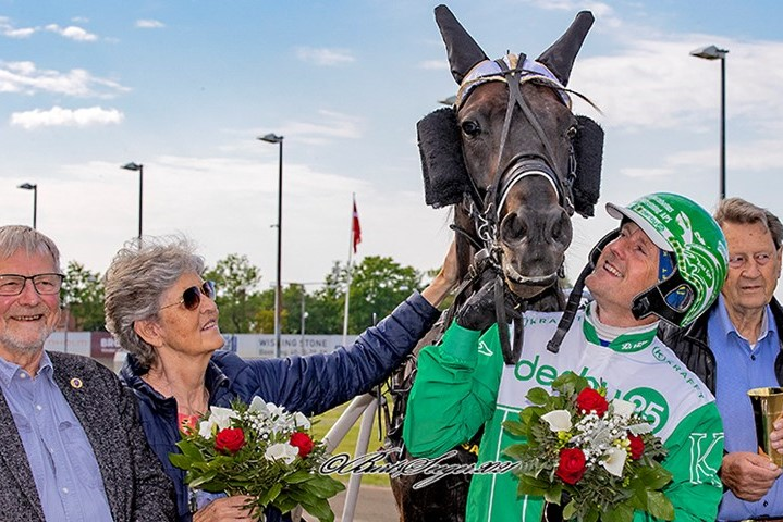 Dansk mester glad for opbakning