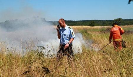 Politiet: Naturen er brandfarlig
