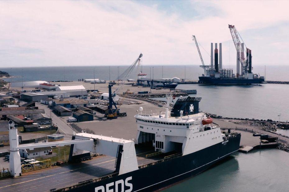 Rønne Havn viser sig frem for udlandet