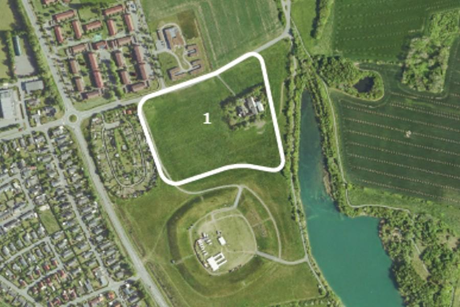 Nyt boligområde i Rønne nær DGI Stadion