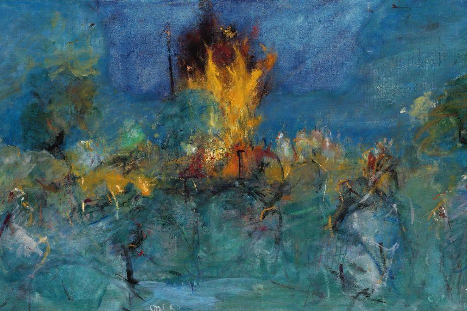 Oluf Høst-maleri solgt for over 1,5 million