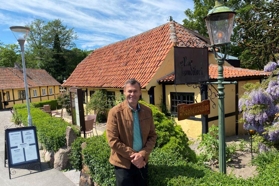 Folkekær restaurant i Sandvig til salg