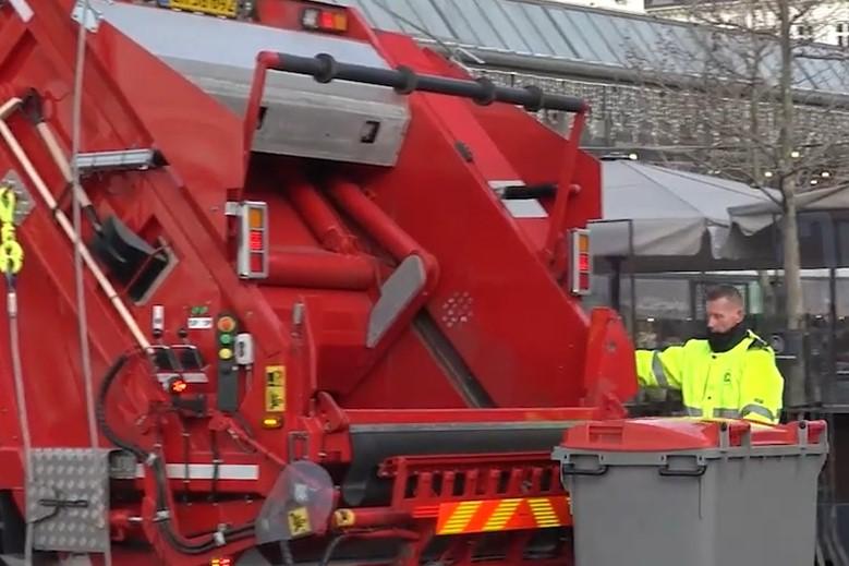 Firma i Glostrup skal indsamle affald på Bornholm