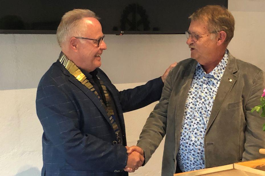 Præsidentskifte i Nexø Rotary Klub